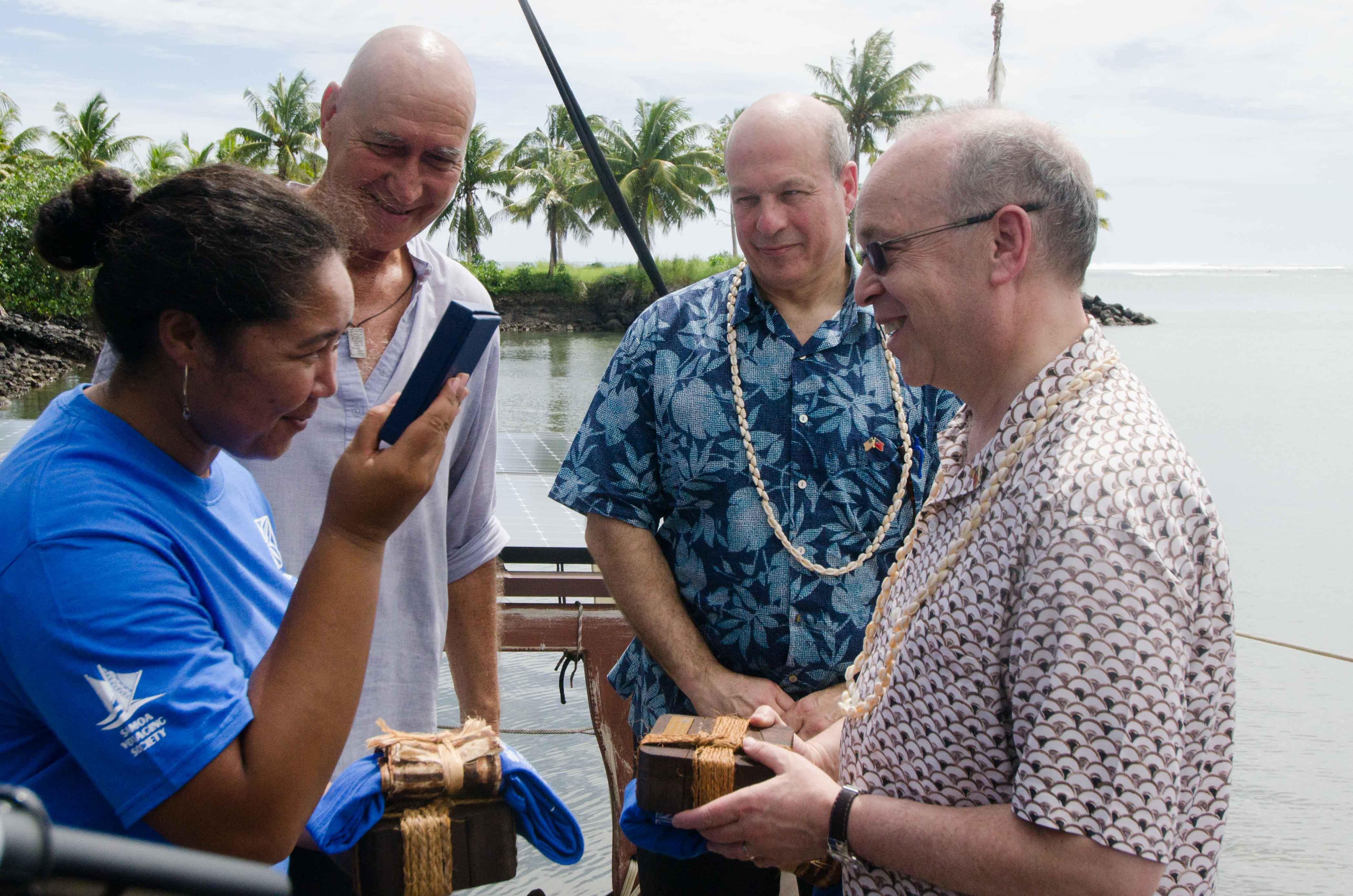 A Samoan Captain